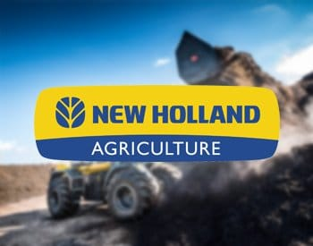 New Holland Radlader